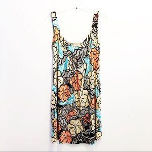 Diane von Furstenberg Silk Retro Print Tank Dress
